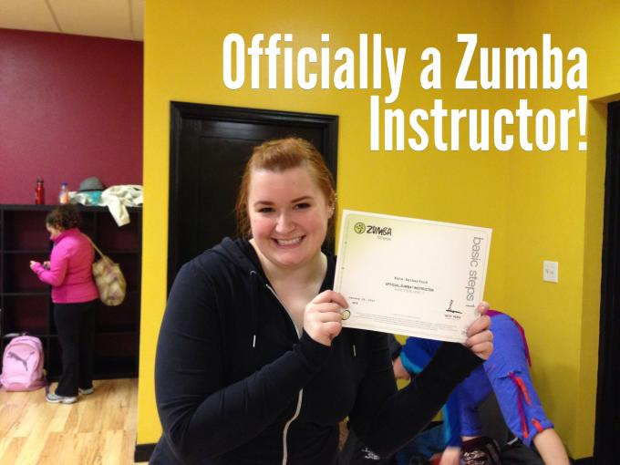 Kate Retherford, Zumba Instructor