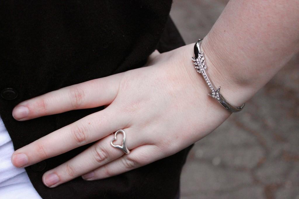 Tiffany Ring & Betsey Johnson Bracelet