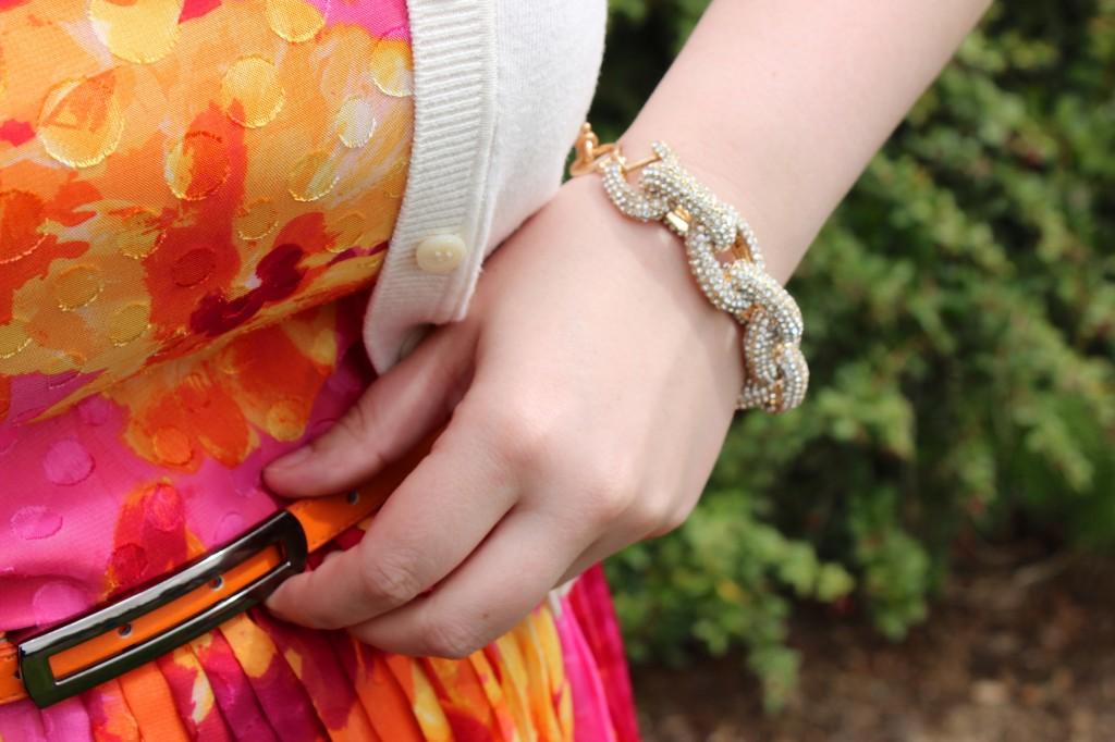ILY Couture Pave Link Bracelet