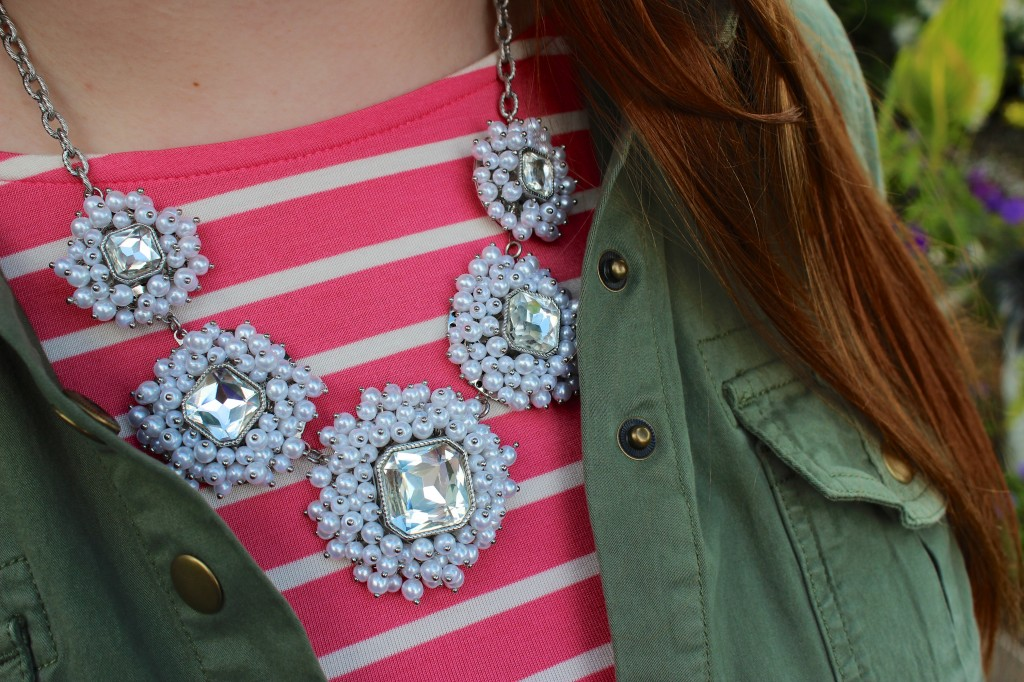 Bauble Bar Snow Cluster Necklace