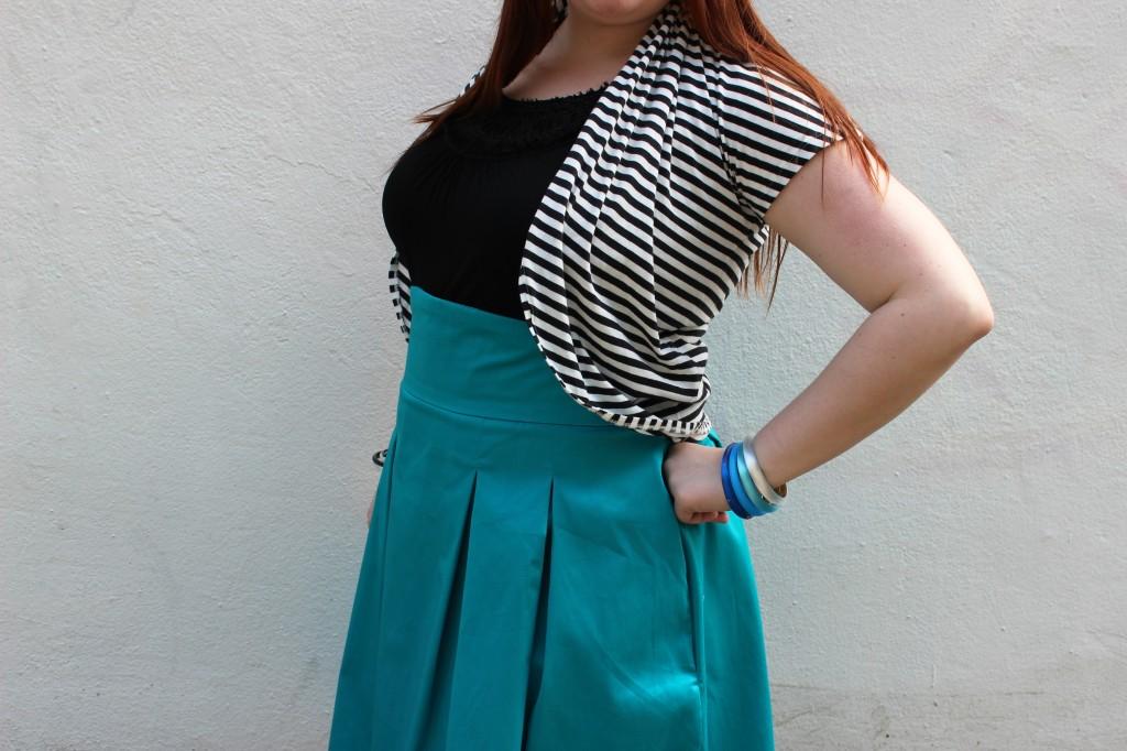Bri Seeley Jaclyn Skirt detail