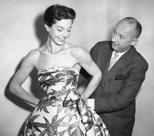 Christian Dior fitting dress