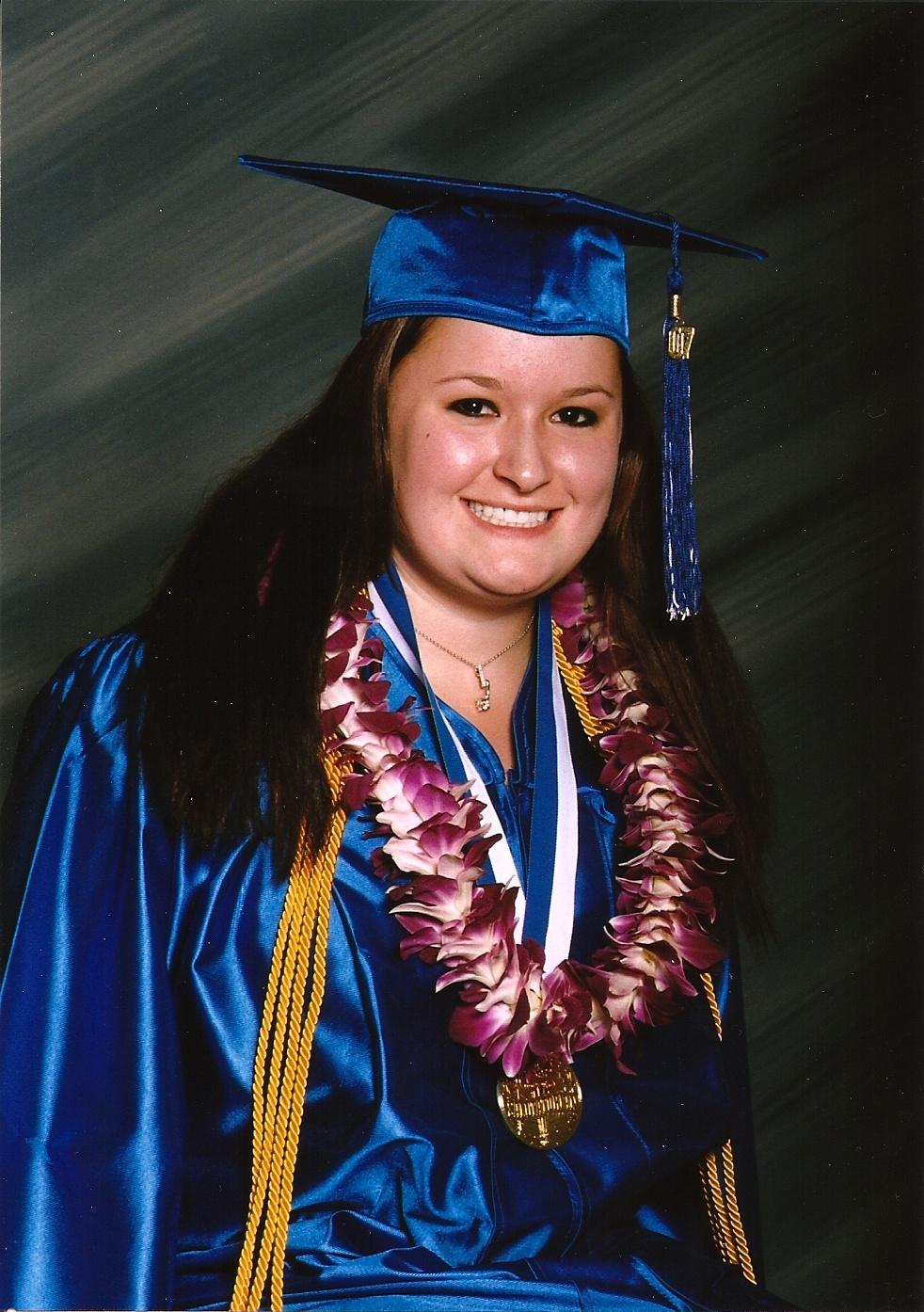 Kate Retherford High School Graduation