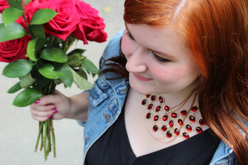 Roses and Necklace