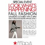 Fall Fashion Essentials Event at Macy's Bellevue Square