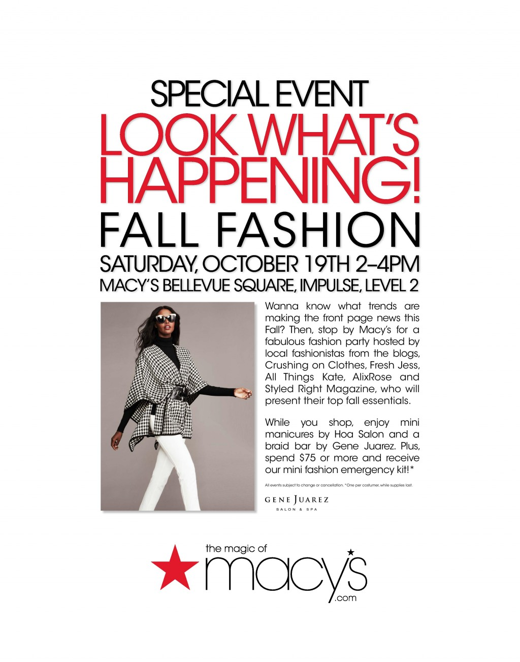 Fall Fashion Bellevue