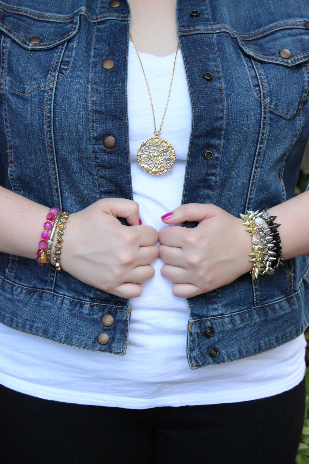 Marrin Costello Necklace and Arm Party