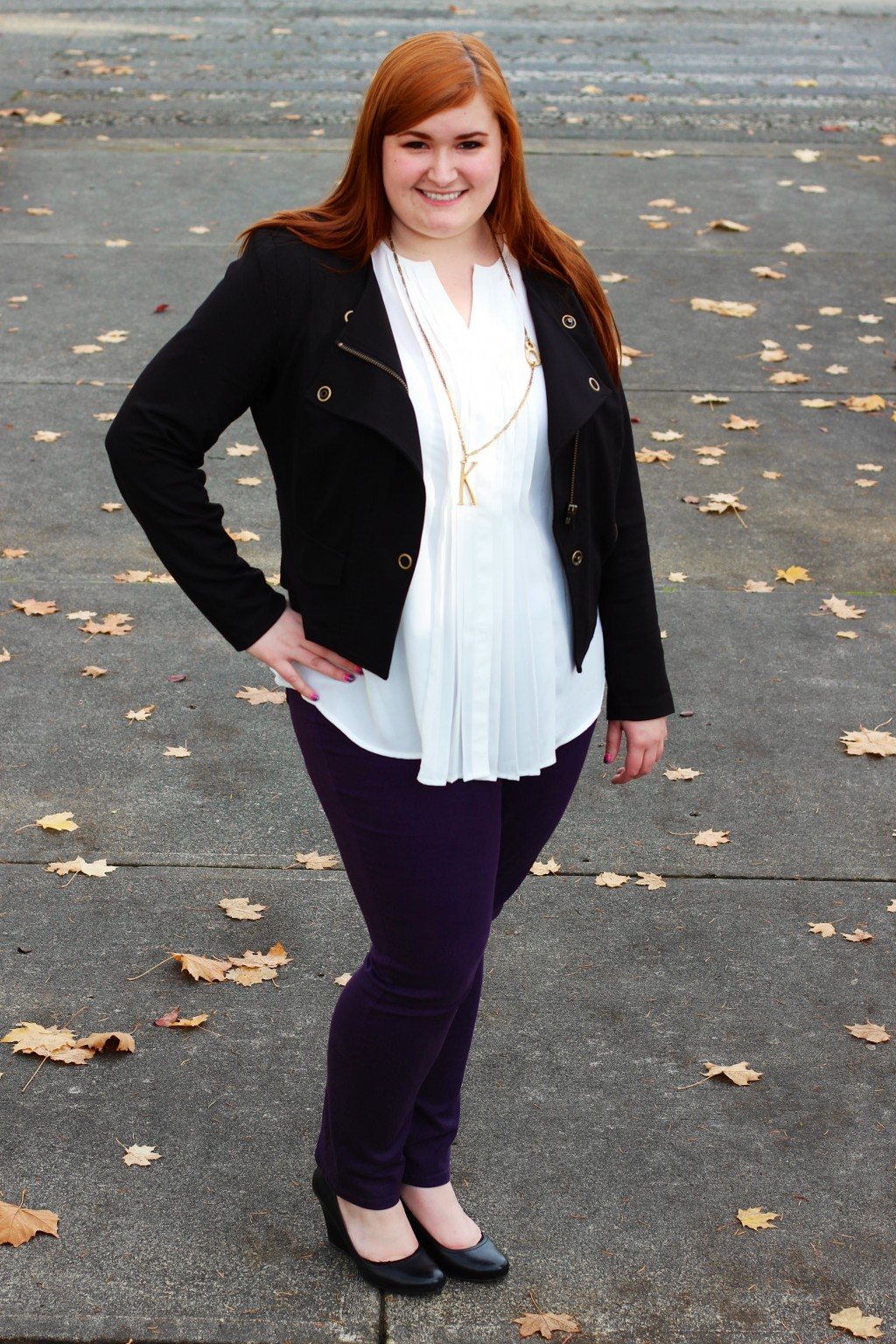 All Things Kate in Indigo by Clarks, Cabi, NYDJ, Lulu Frost, and INC