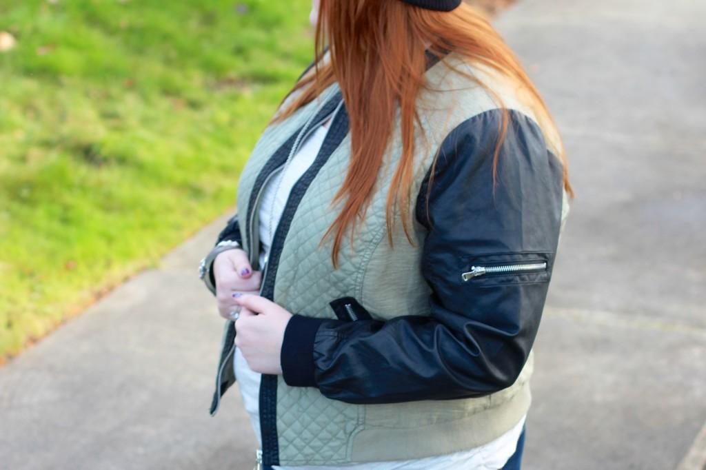 B Bernado Faux Leather Jacket