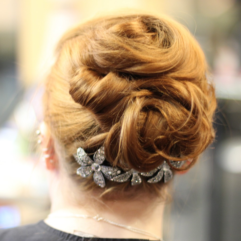 Up-Do Styling with France Luxe Grand Floral Comb