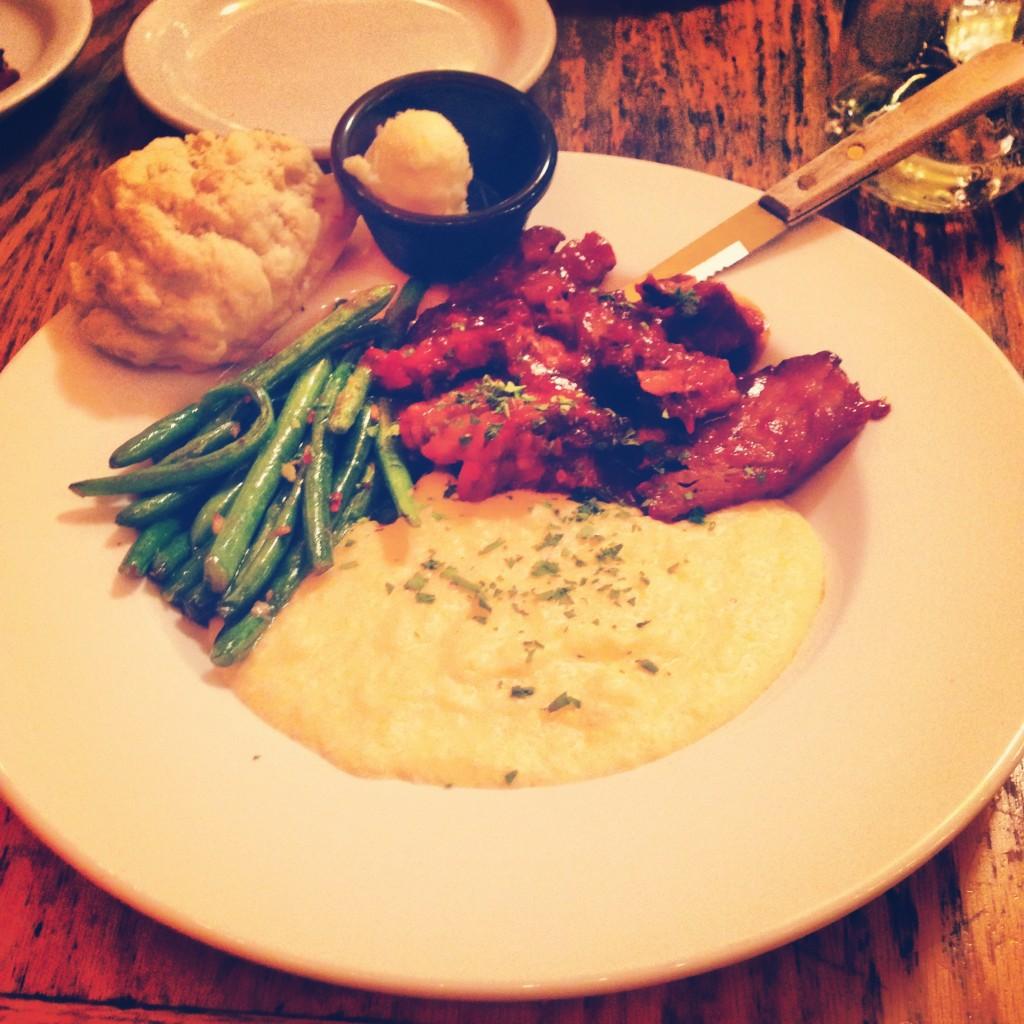 BBQ Beef Brisket at Addie Mae's Southern Kitchen in Port Townsend