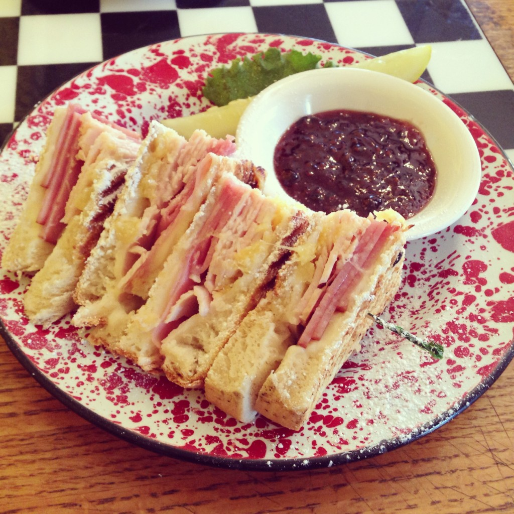 Twisted Cristo Sandwich at The Courtyard Cafe