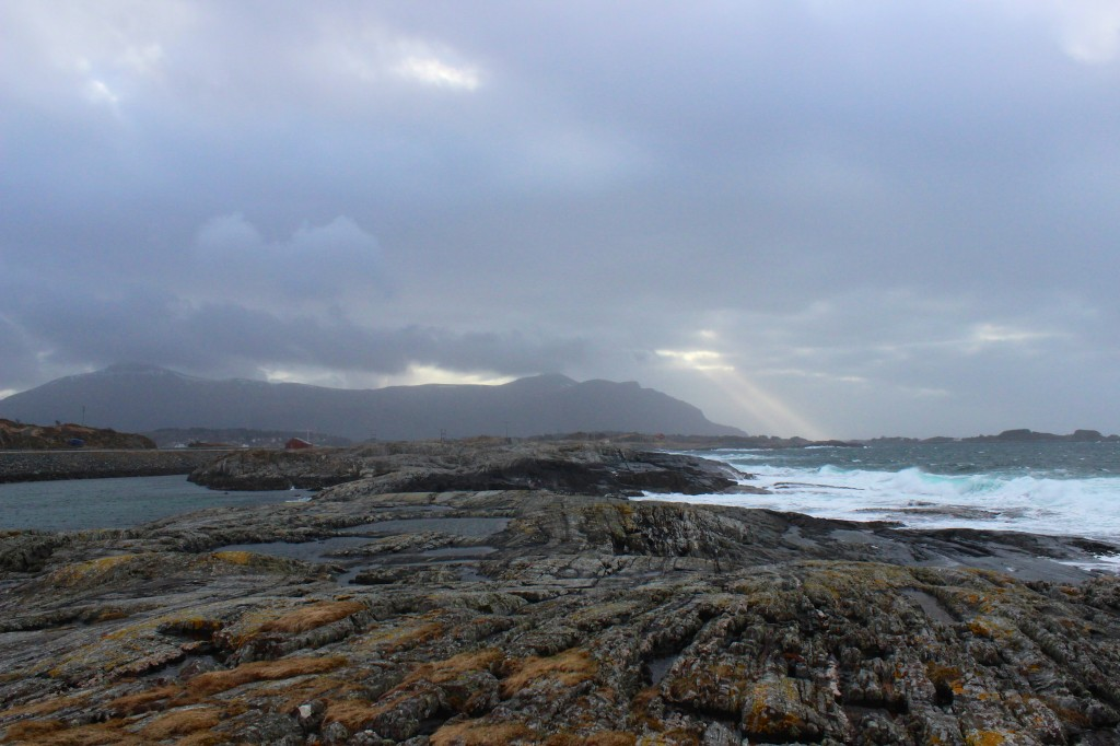 View from the Atlantic Road