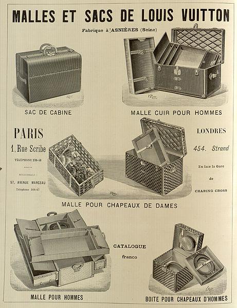 Advertisement for Louis Vuitton