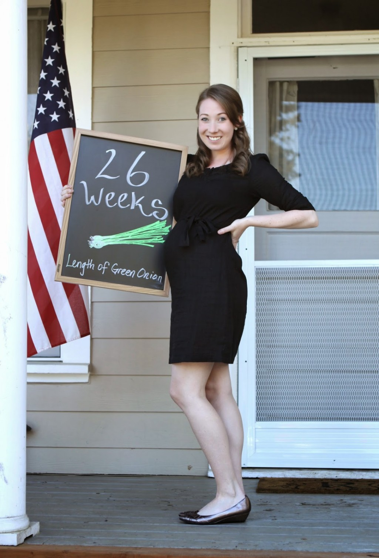 Jenna Reyna 26 weeks
