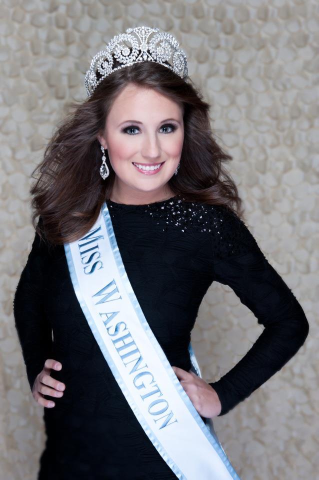 Megan Leibold, competing for Miss Washington
