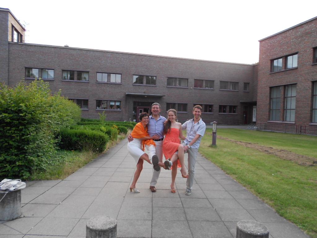 Valeriya & her family