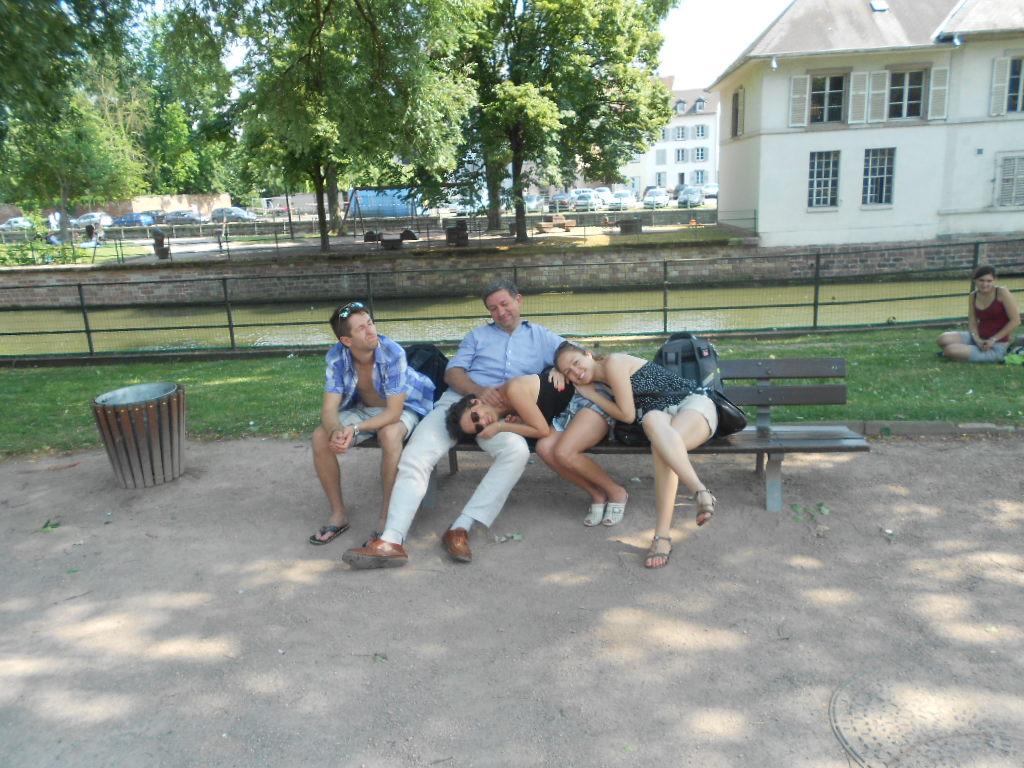 Valeriya & her family in Germany