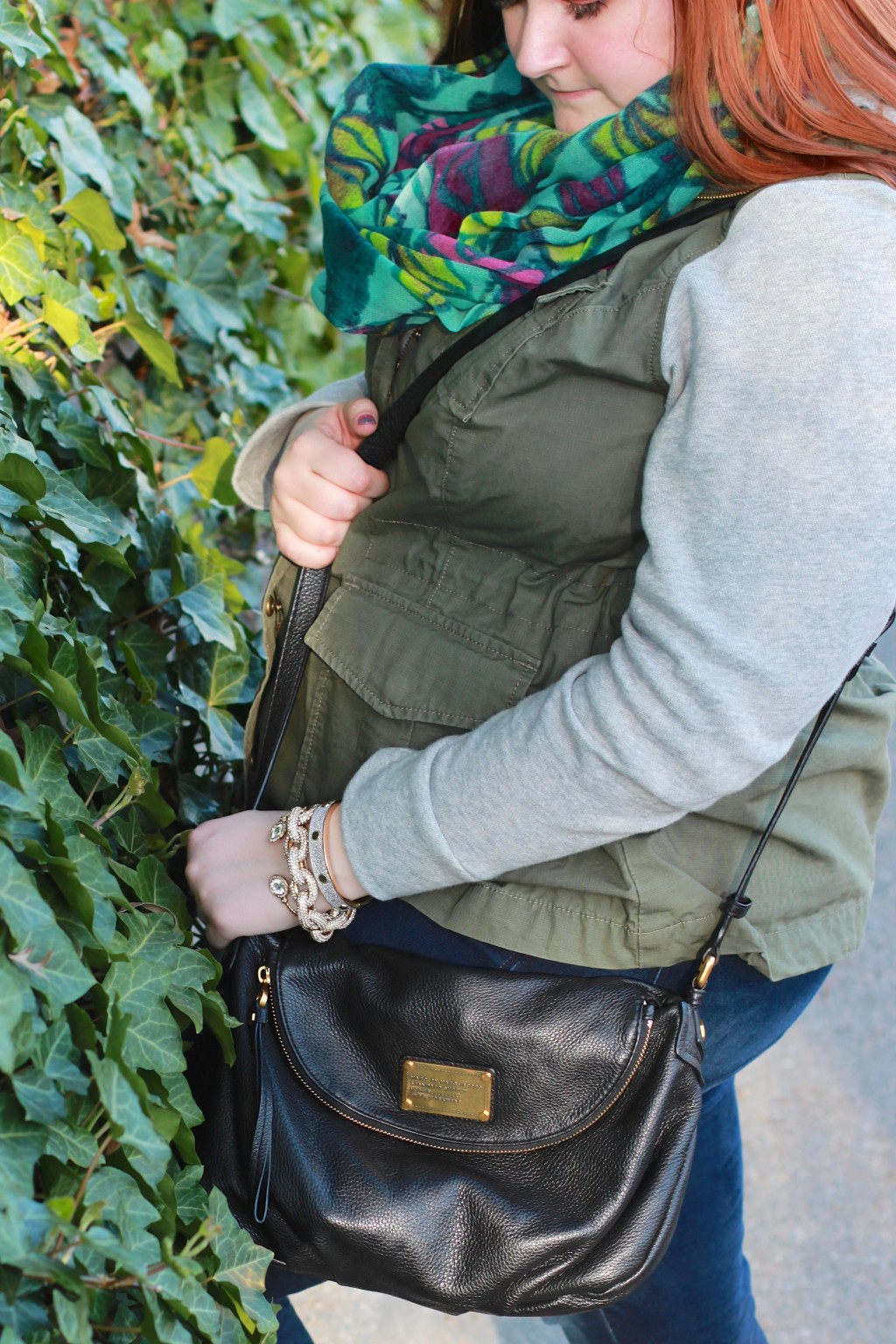 Marc Jacobs Bag & Charming Charlie Jewelry