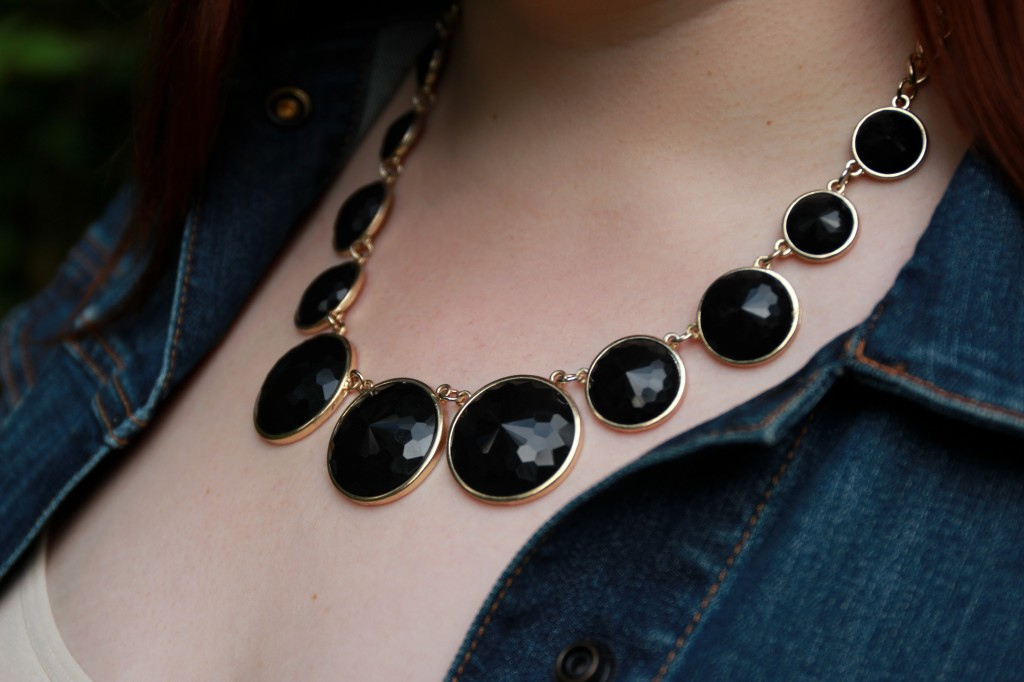 Bold Black Necklace