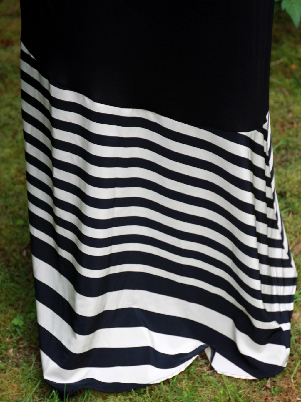 Stylzoo Flare Maxi Skirt