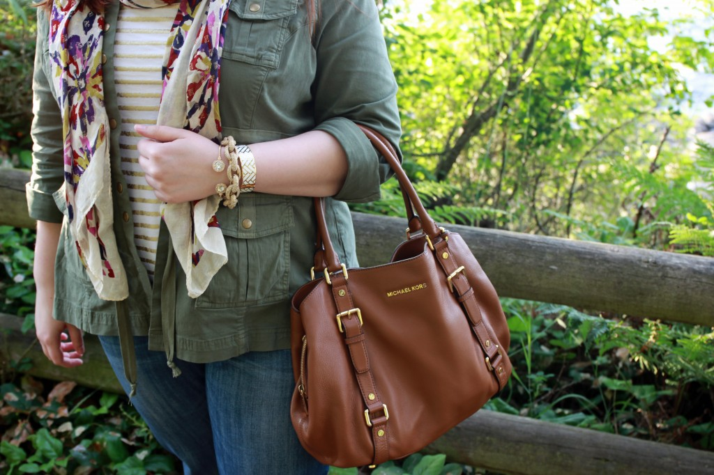 Pattern Mixing Outfit Details
