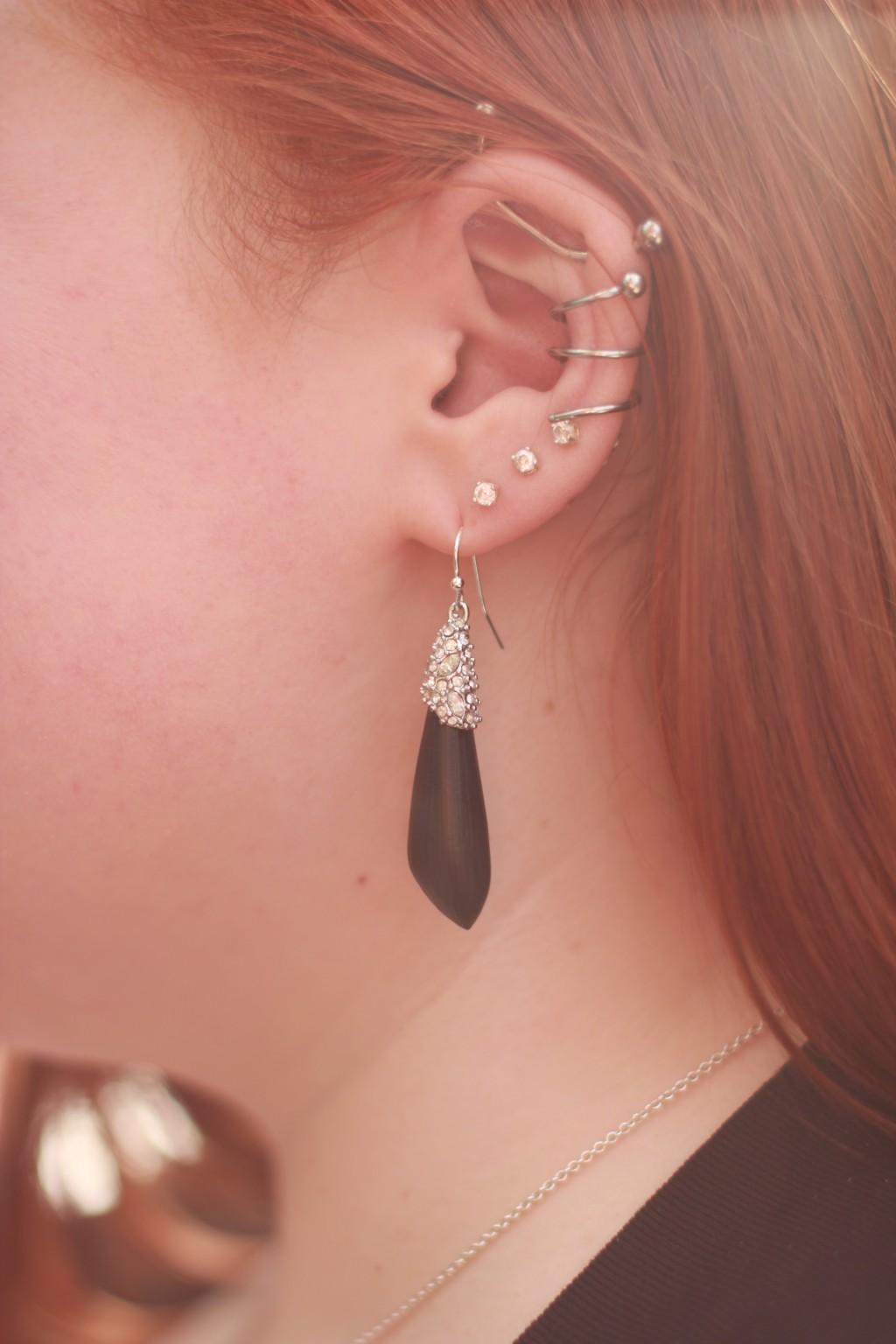 Spiral Ear Piercing