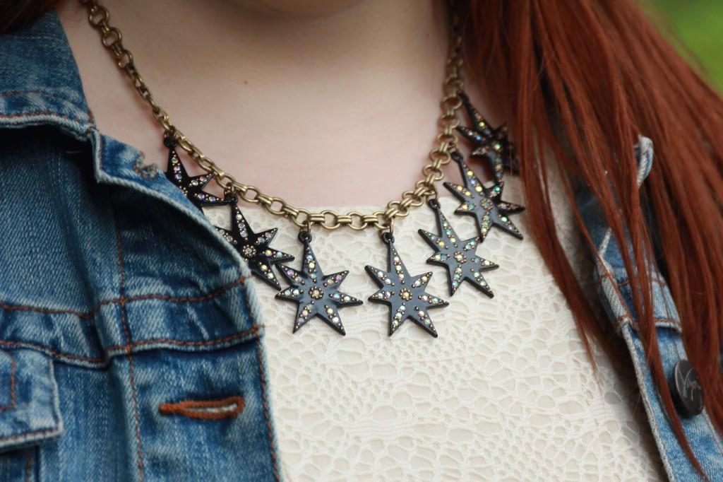 Lulu Frost Starburst Necklace