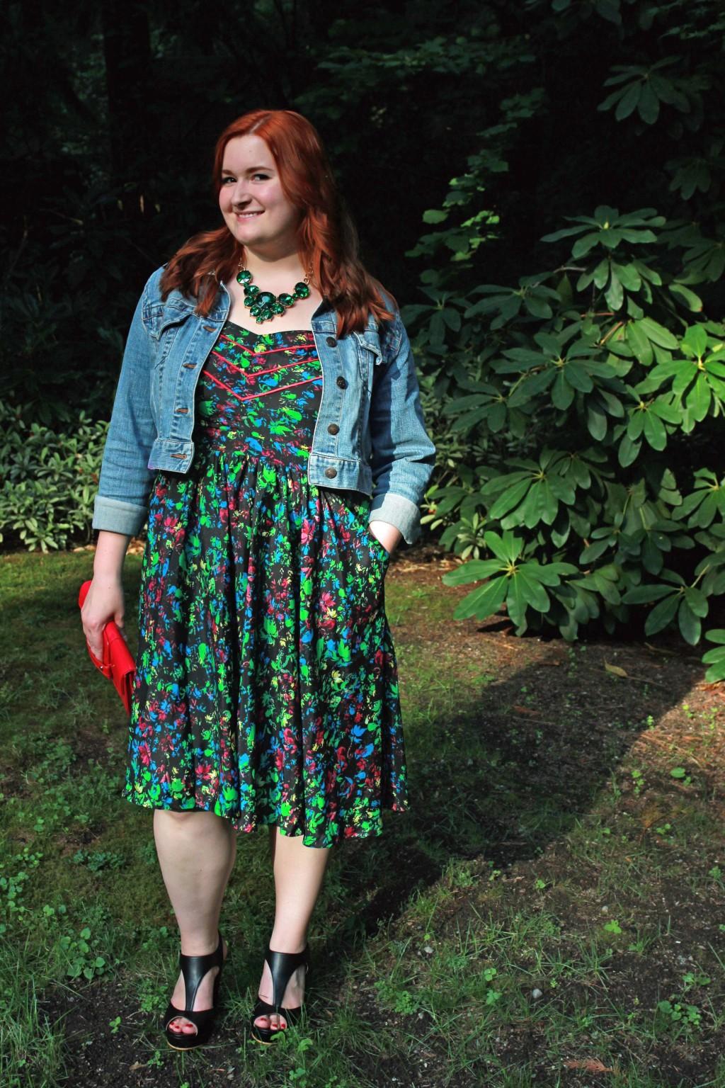 Neon Plus Size Dress