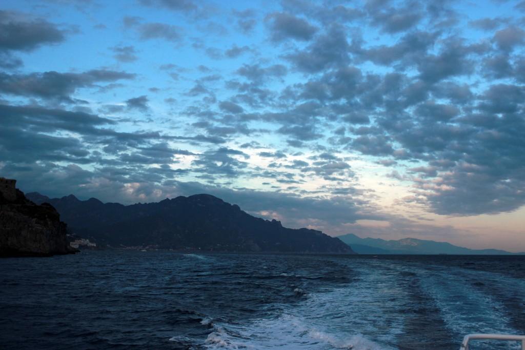 Ferry Ride Amalfi to Positano