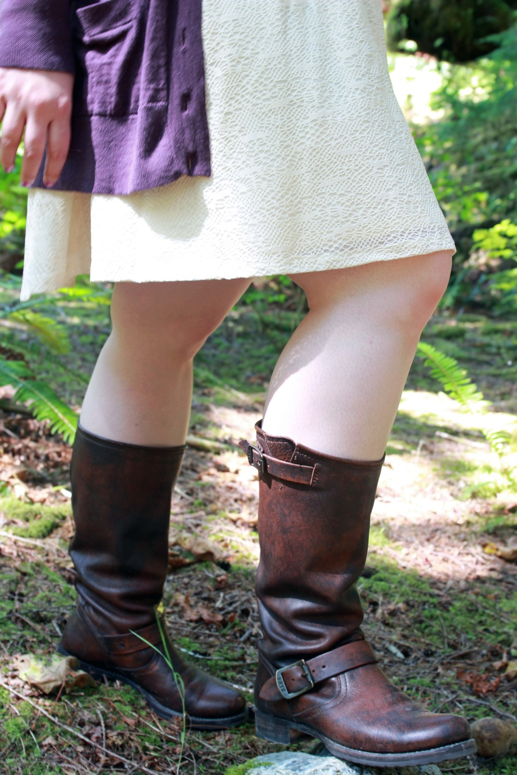 Perfect wide calf boots by Frye