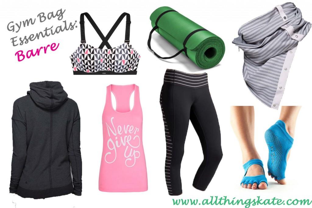 Gym Bag Essentials- Barre