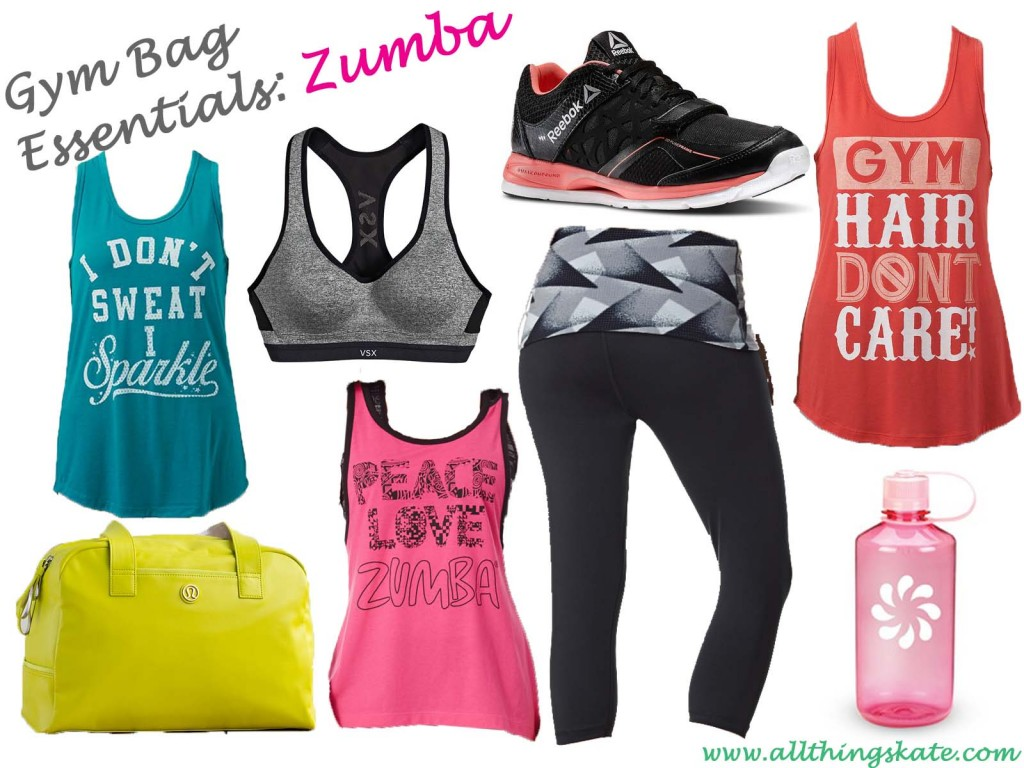 Gym Bag Essentials-Zumba