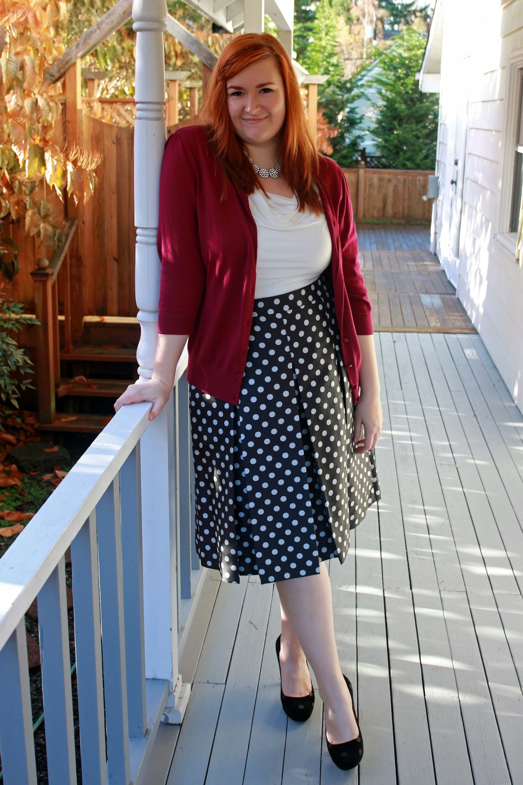 Wearing Polka Dots to the Office