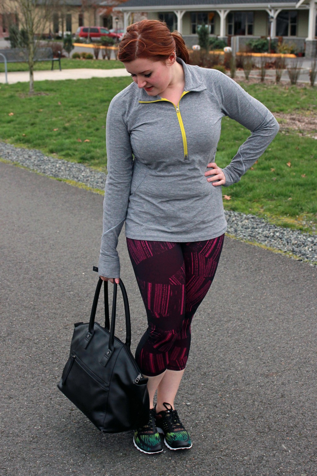 Seattle Style Blogger All Things Kate in Zella, Lululemon, Nike