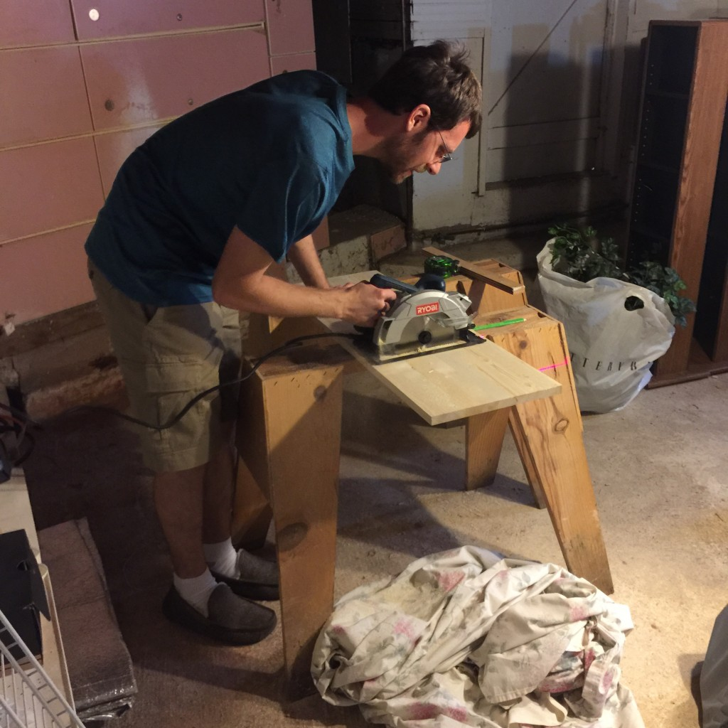 Building a mannequin stand