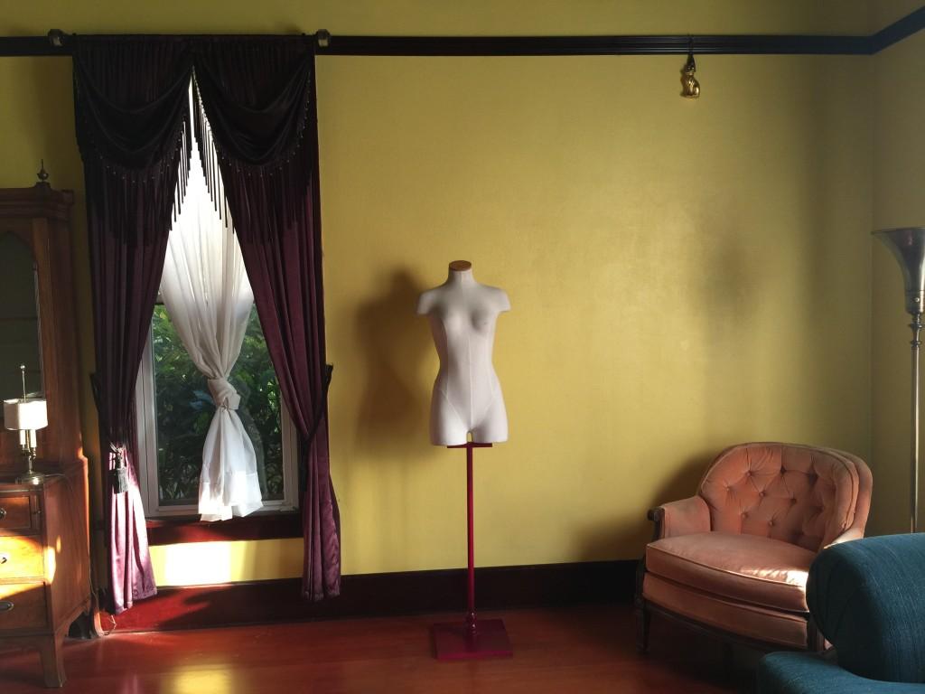 DIY Mannequin Scarf Organization Project