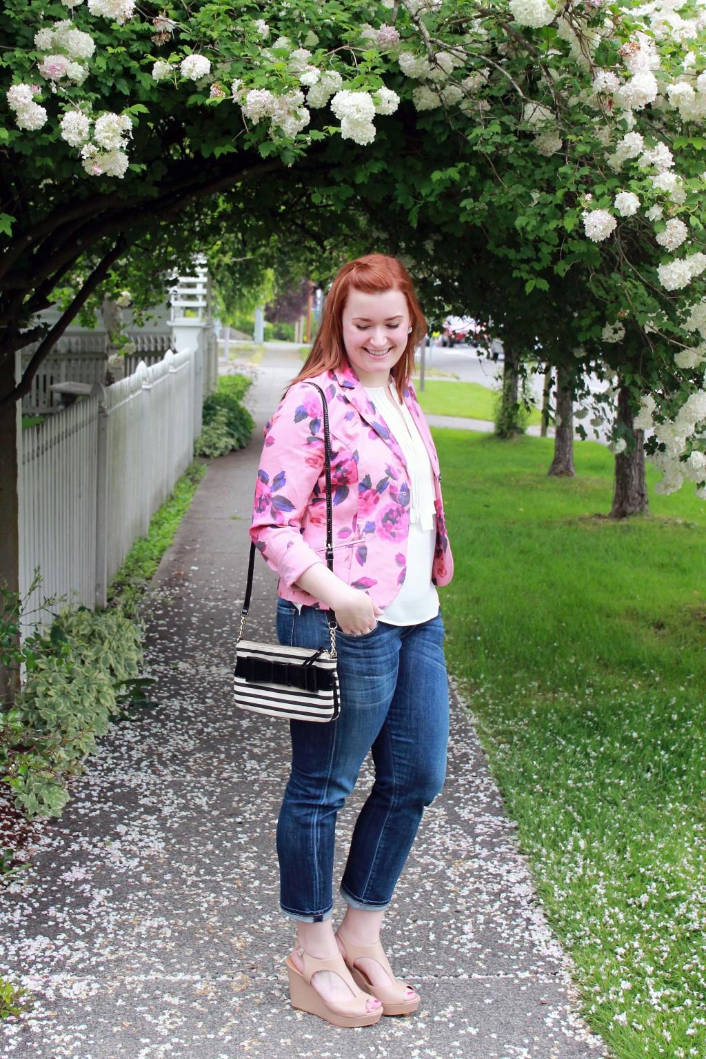 Spring and Summer Floral Jacket Inspiration