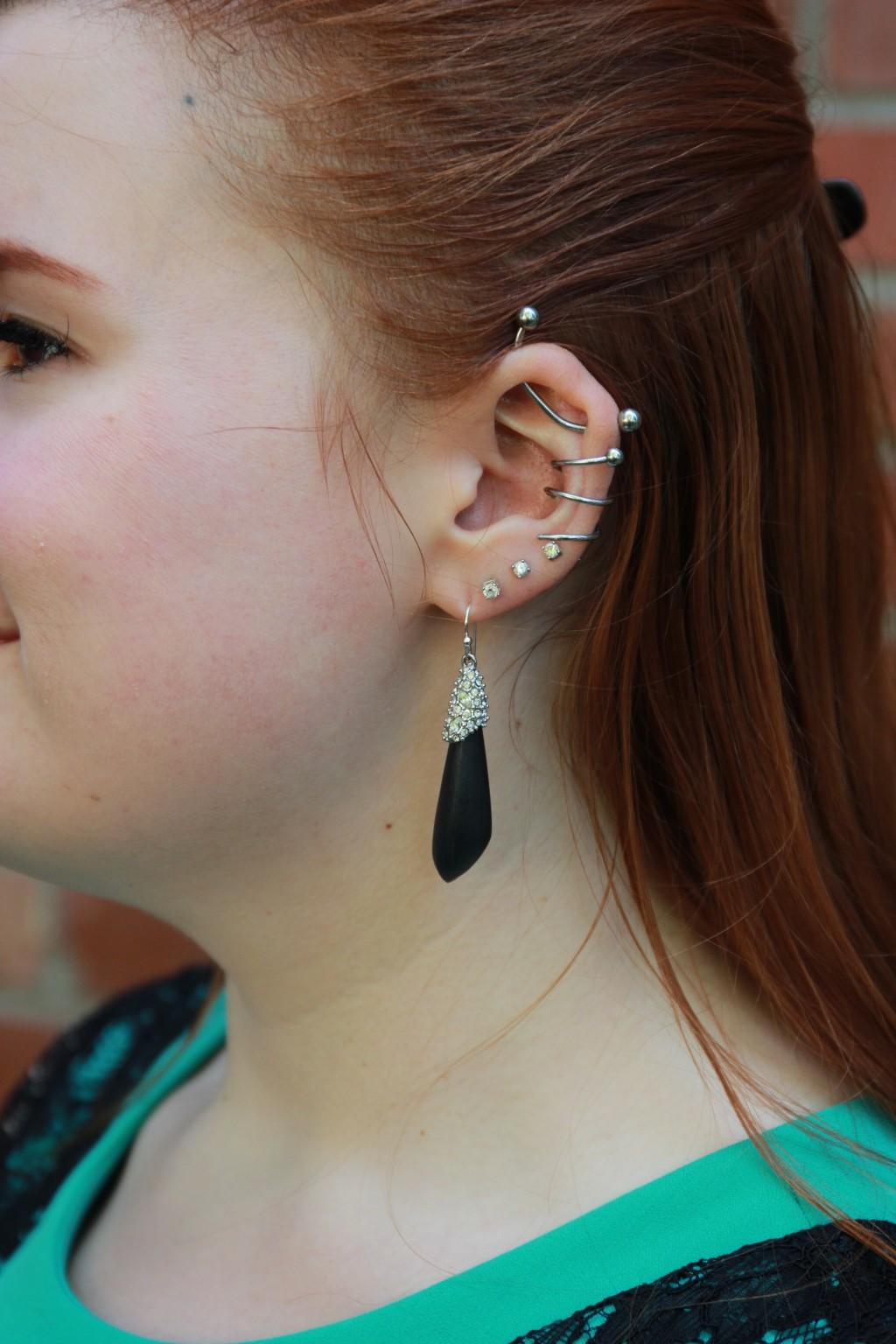 Alexis Bittar Earring Detail