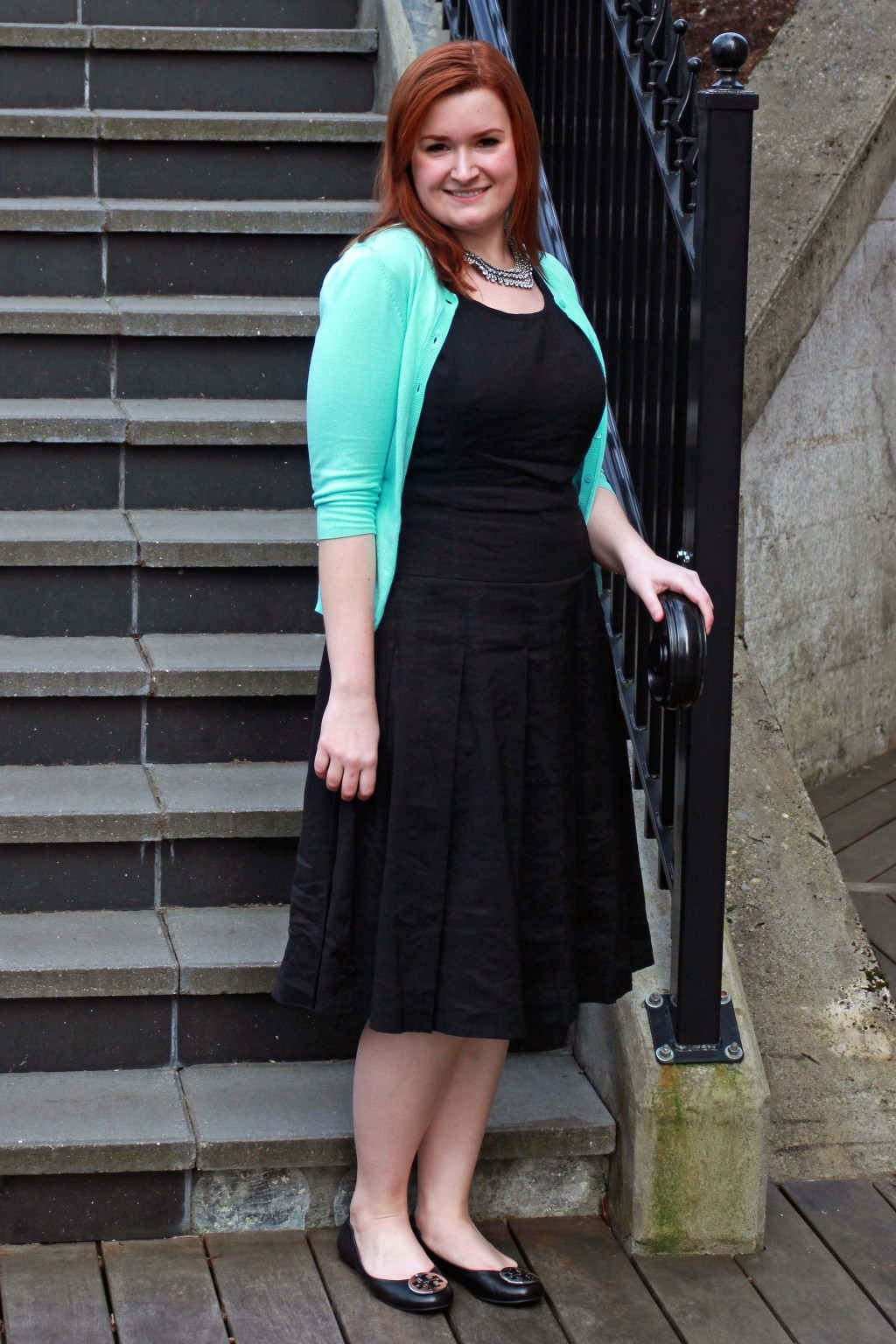 Classic Workwear Look with LBD