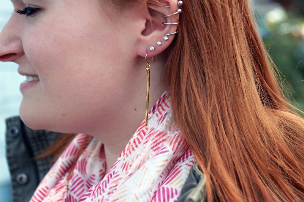 Gorjana Tanner Dagger Earrings