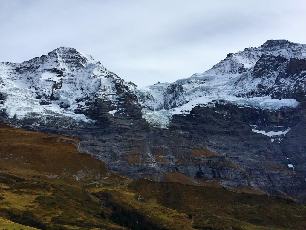 Hike from Kleine Scheidegg to Wengen, Switzerland