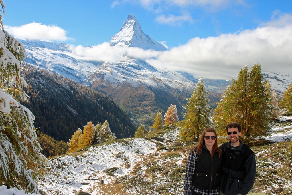 Kate & Jon at the Matterhorn