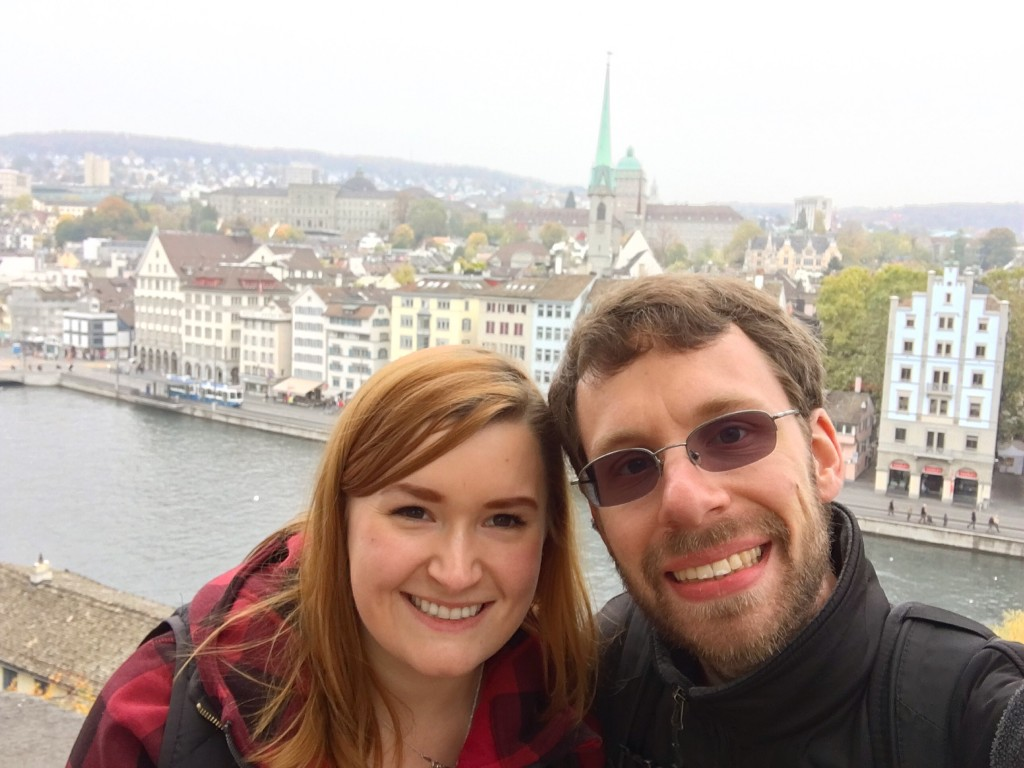 Kate and Jon in Zurich