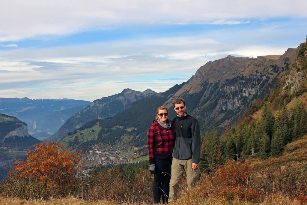 Overlooking Wengen, Switzerland