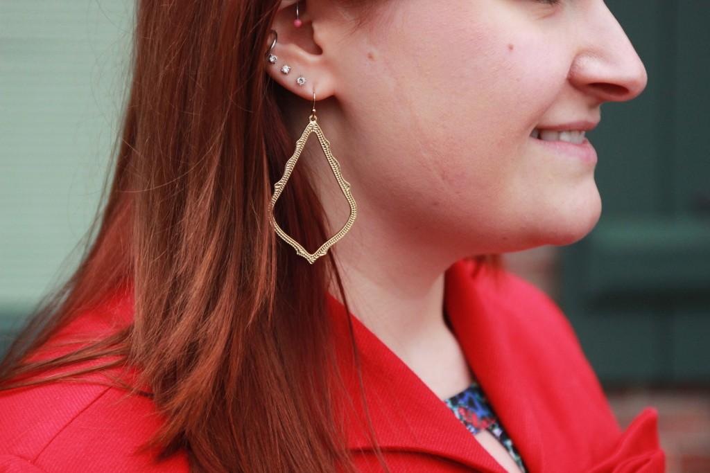 Statement earrings - Kendra Scott Sophee Drop Earrings