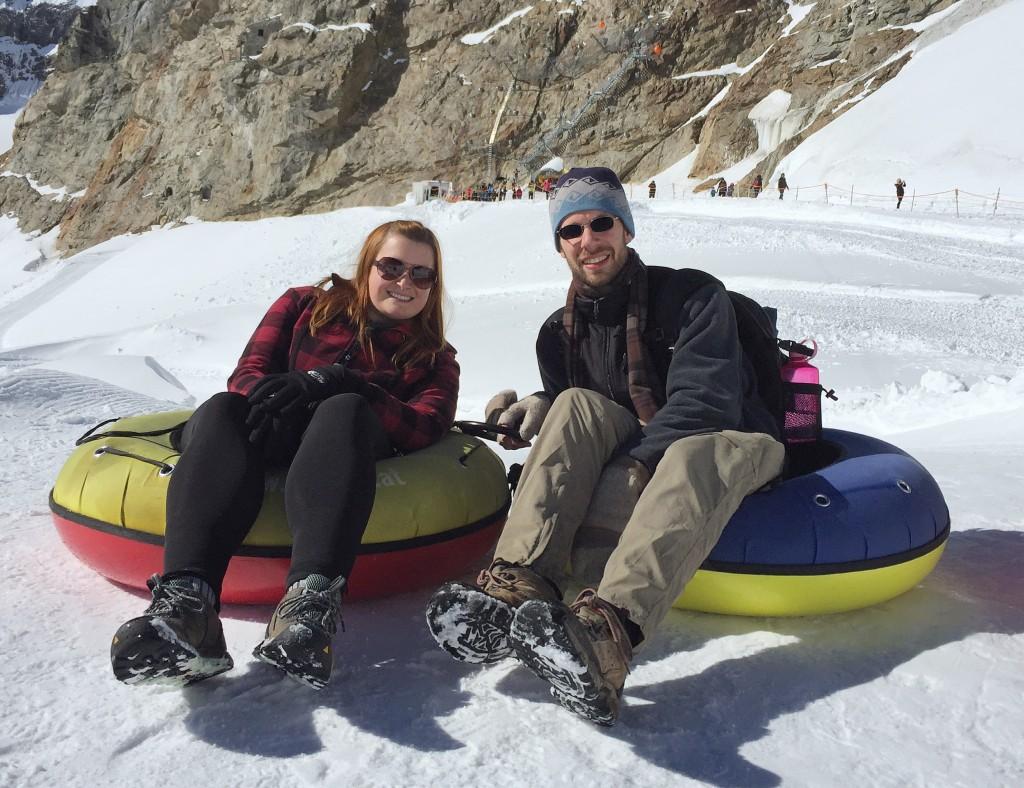 Tubing & Sledding at Jungfraujoch