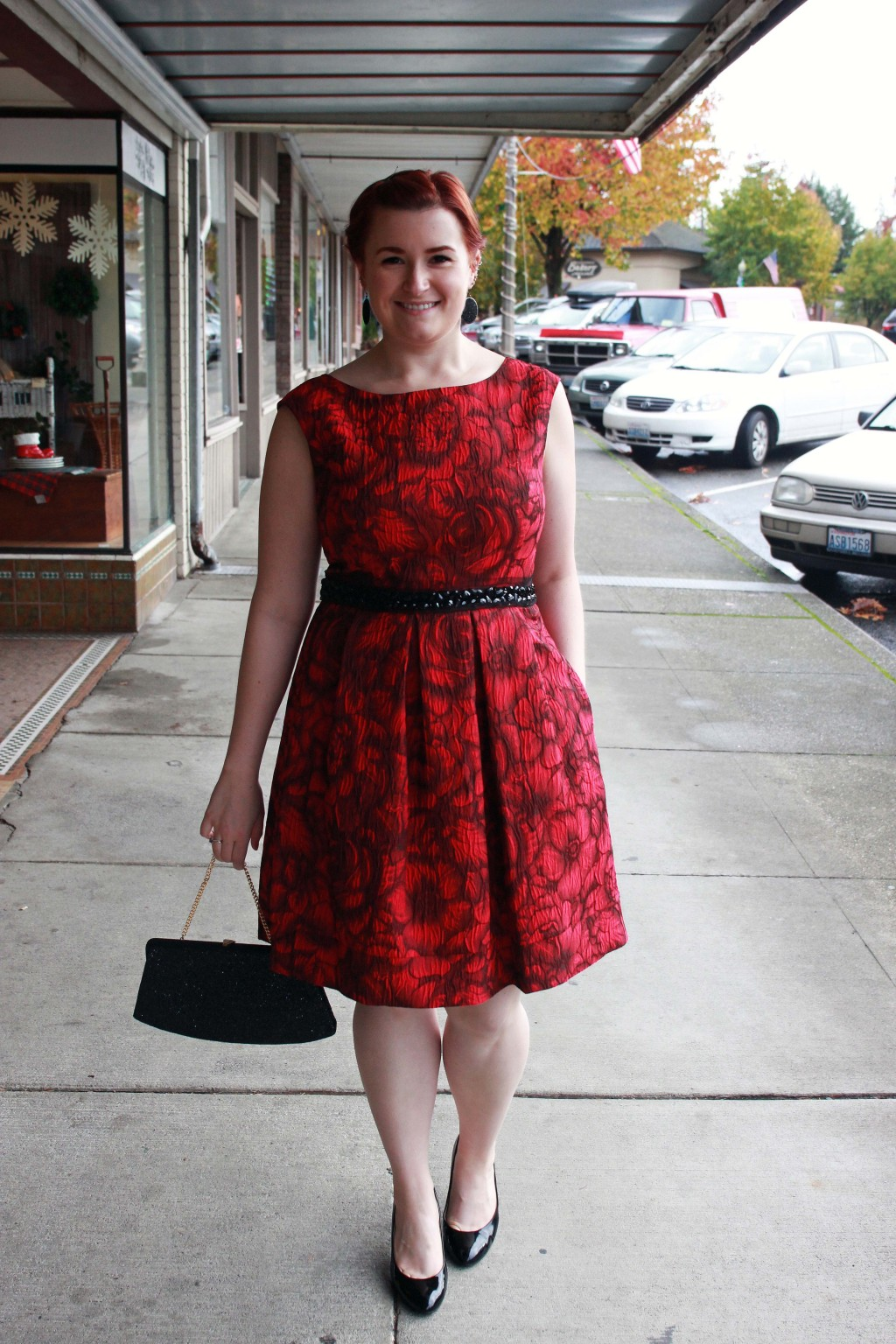 Holiday Party Red Dress Inspiration