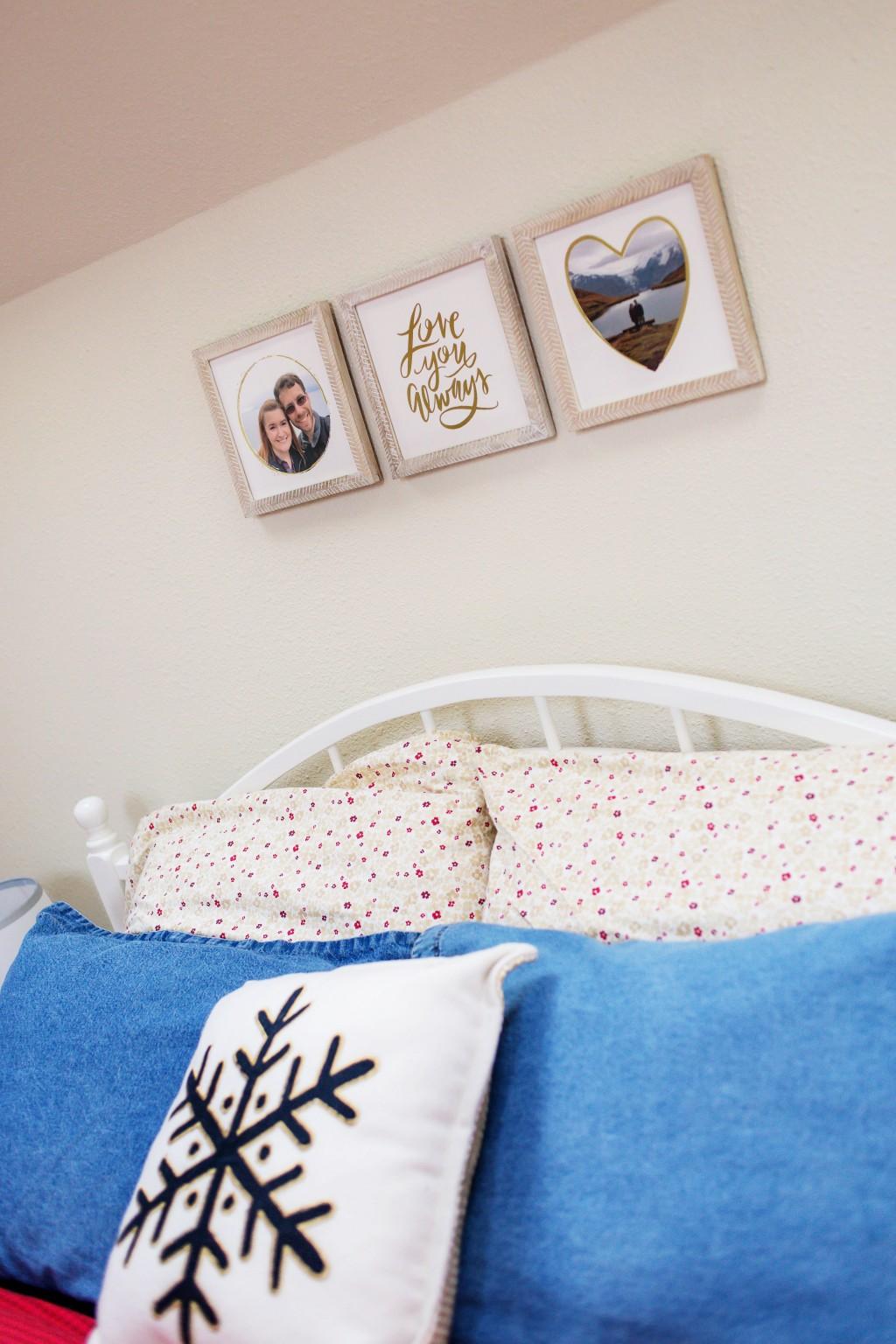 Bedroom Artwork from Minted.com