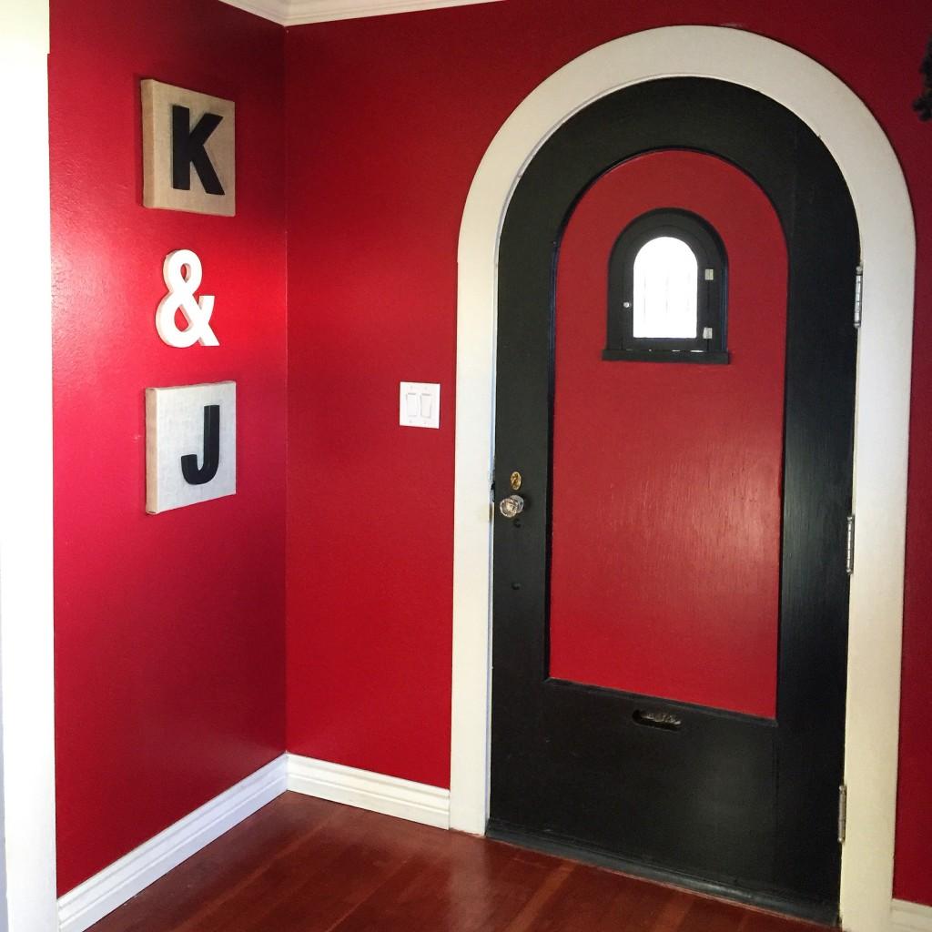 Entryway DIY artwork